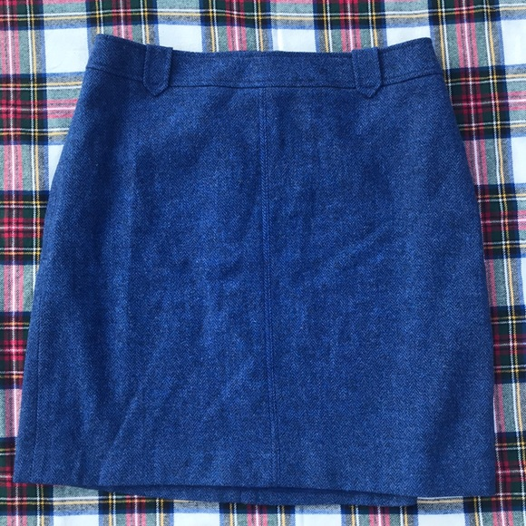 Talbots Dresses & Skirts - NWT- Talbots Wool Pencil Skirt Blue